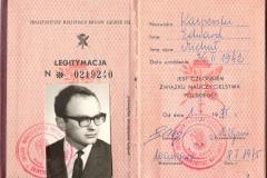 Kasperski_Legitymacja-ZNP_1975