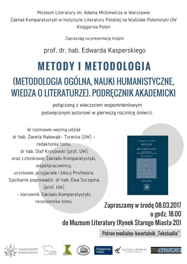 metody i metodologia plakat